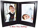 Dual Recording Photo Frame Memories You Can Hear!, RE9938 (Black)