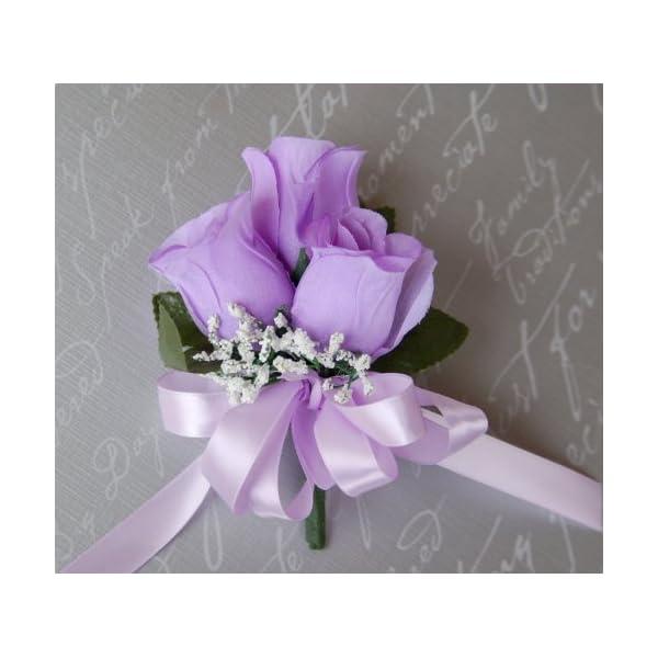 Angel Isabella Pin Corsage – Lavender Roses