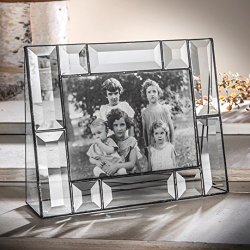 - J Devlin Pic 112-57H 5x7 Crystal Glass Picture Frame Beveled Glass Horizontal Photo