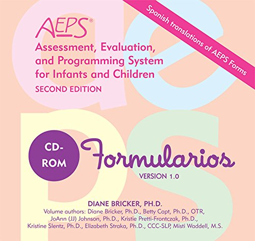Formas Assessment, Evaluation, and Programming System for Infants and Children (AEPS®), Second Edition, CD-ROM