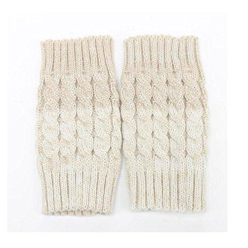 Women Crochet Knit Boot Socks,Buedvo Winter Leg Warmer