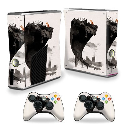 MightySkins Skin Compatible with X-Box 360 Xbox 360 S Console - Last of Us | Protective, Durable, and Unique Vinyl Decal wrap Cover | Easy to Apply, Remove, and Change Styles | Made in The USA