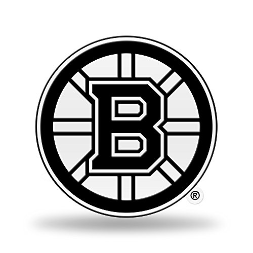 Rico Industries NHL Boston Bruins Team Color Auto Emblem 3D Sticker