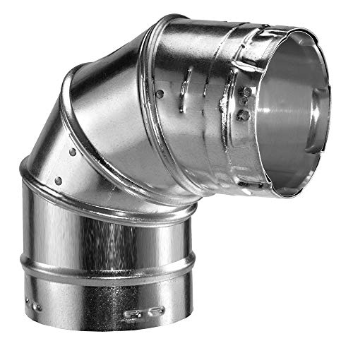 "Simpson Duravent 8GVL90 8"" Adjustable 90 Degree Elbow Type B"