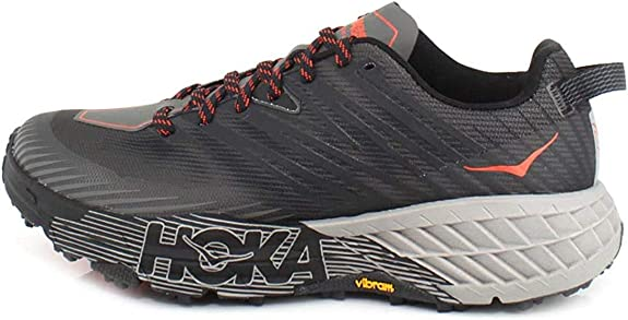 HOKA ONE ONE Men's Speedgoat 4 Textile Synthetic Trainers