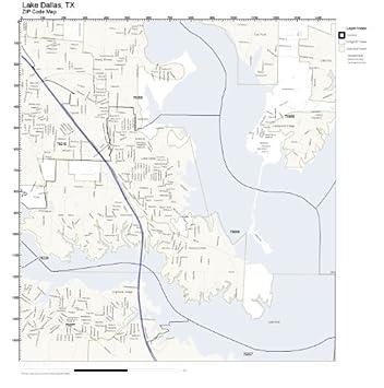 Amazon.com: ZIP Code Wall Map of Lake Dallas, TX ZIP Code ... on map of dallas post offices, map of dallas metro area, map of dallas ft worth, map of dallas google, map of dallas schools, map of downtown dallas, map of dallas crime, map of dallas roads, map of dallas county, map of dallas parks, map of dallas hotels, map of dallas area cities, map of dallas neighborhoods, map of dallas city, map of dallas airports, map of dallas service area, map of dallas golf courses, dfw area codes, map of dallas oregon, map of dallas tx,