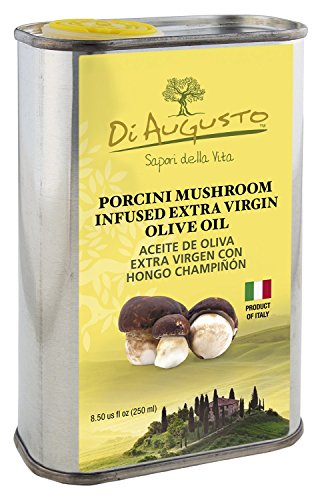 Di Augusto Porcini Mushroom Infused Extra Virgin Olive Oil ,250 ml.