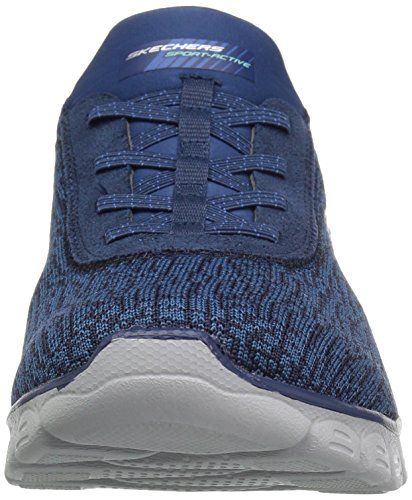Microburst Shoes Supersonic Stretch Skechers Ladies Womens Navy Trainers ExwqHPOH6