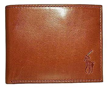 Ralph Lauren - Cartera para hombre marrón canela: Amazon.es: Equipaje