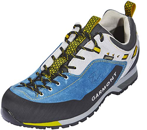 Garmont Men's Dragontail LT GTX Approach Hiking Shoes, Night Blue/Light Gray, Size 11.5