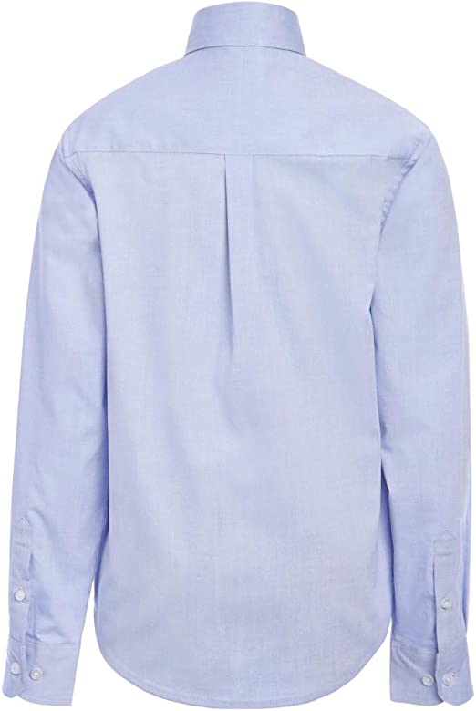 Tommy Hilfiger Long Sleeve Pinpoint Boys Oxford Shirt