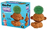 Chia Pet Fingerlings Monkey Decorative Pottery Planter, Easy to Do and Fun to Grow, Novelty Gift, Perfect for Any Occasion