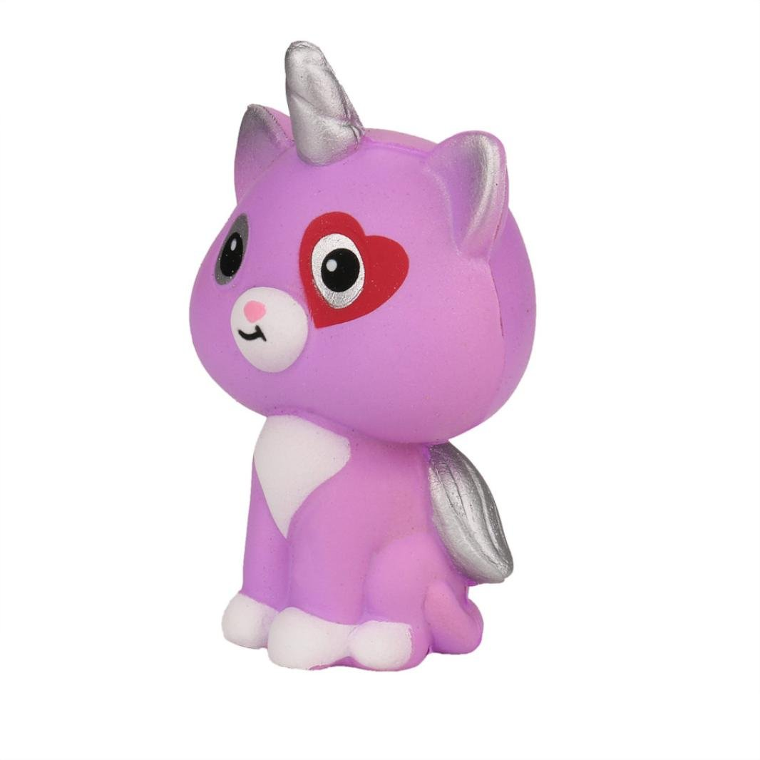TrimakeShop Squeeze Unicorn Wing Cat Cream Bread Scented Slow Rising Toys Phone Charm Gifts by TrimakeShop (Image #3)