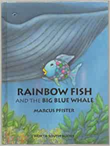 Rainbow fish and the big blue whale mini book hardcover for Rainbow fish and the big blue whale
