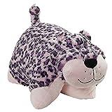 """Pillow Pets Jumboz Pink Leopard - 30"""" Folding Jumbo Plush Pillow"""