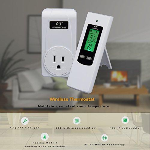 Wireless Temperature Controller Electric Thermostat Remote