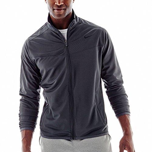 New Nike Men's Epic Jacket Anthracite/Black Large