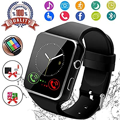 Amazon.com: Smart Watch, Bluetooth Smartwatch Touch Screen ...
