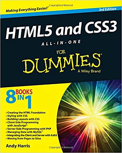 HTML5 and CSS3 All-in-One For Dummies: 9781118289389