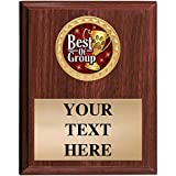 Dog Show Award Plaques - 5x7 Customized Best of Group Dog Show Trophy Plaque