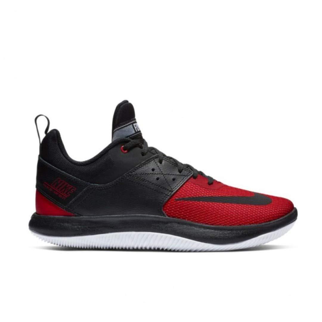 Nike Men's Black \u0026 Red Basketball Shoes