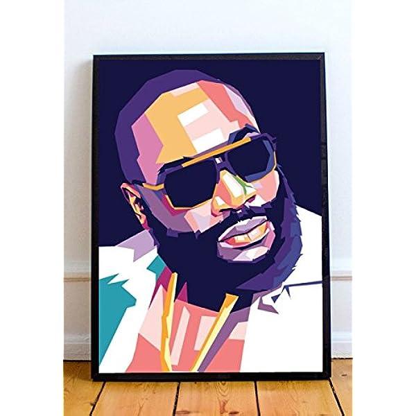 "20/"" Rick Ross poster wall art home decor photo print 16/"" 24/"" sizes"