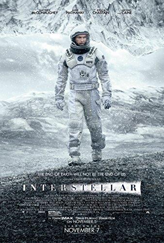 Interstellar 2014 movie poster family silk wall print 36 inch x 24 inch