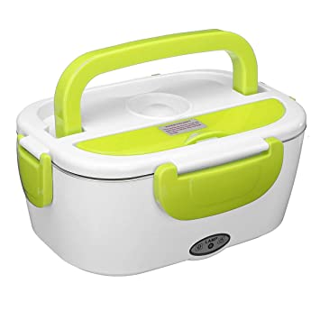Multifuncional portátil calefacción eléctrica caja de almuerzo del ...