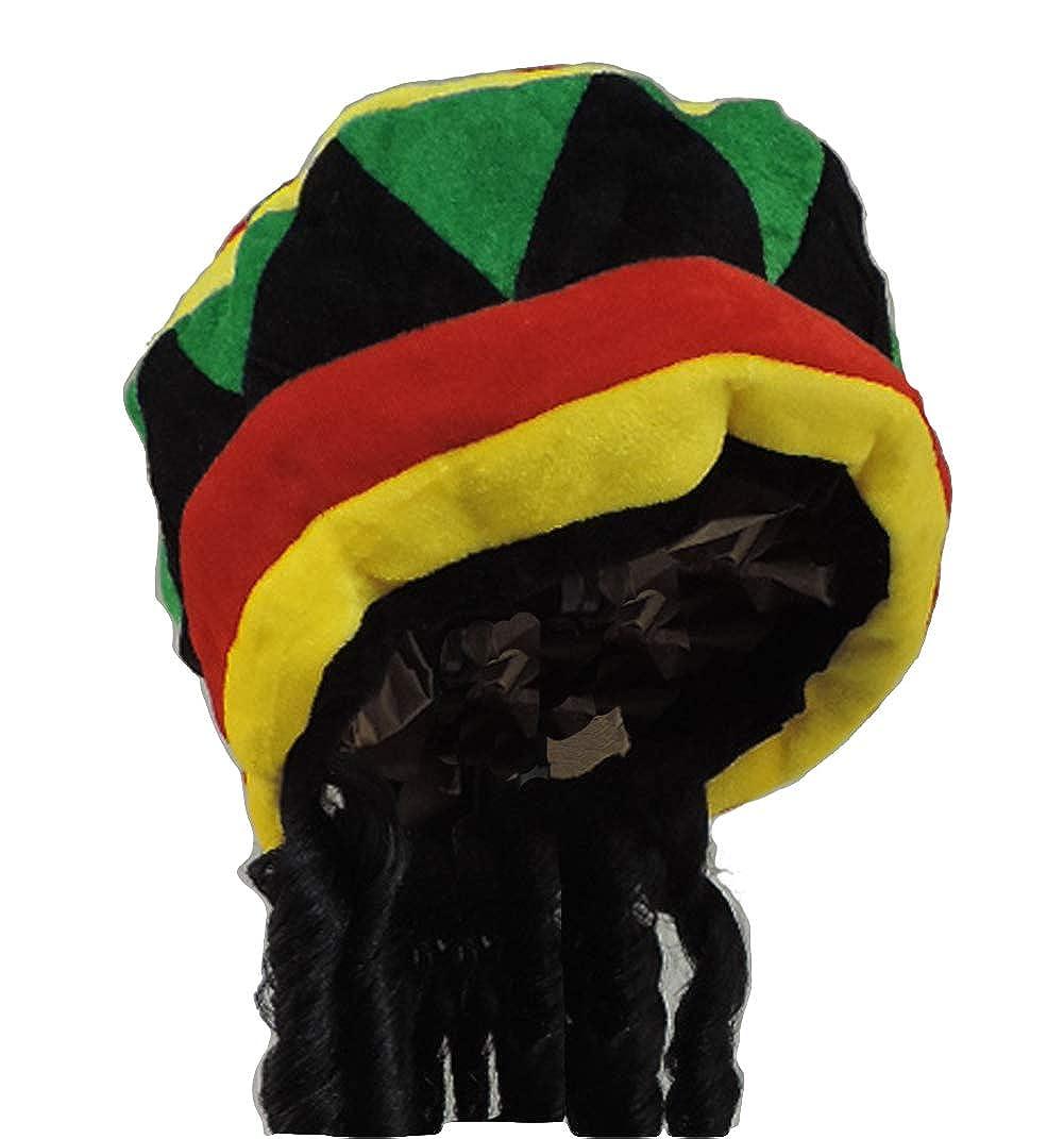 a4231ac05 Rhasta Dreds Reggae Soft Jamaican Bob Marley Hat Cap One Size