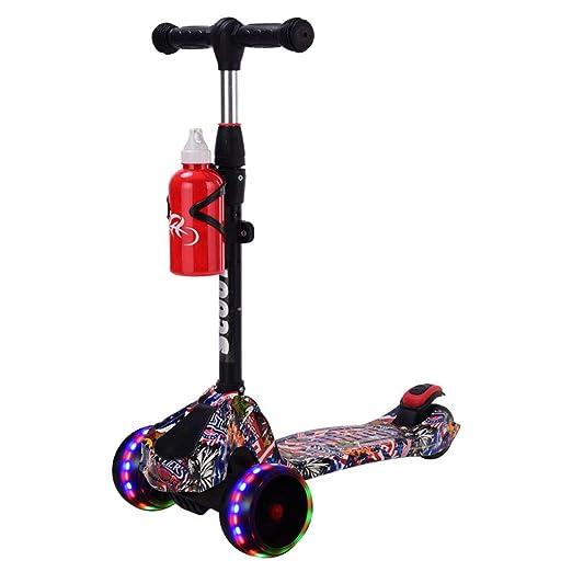 Bicicleta para niños Zona de Interior para niños Scooter para ...