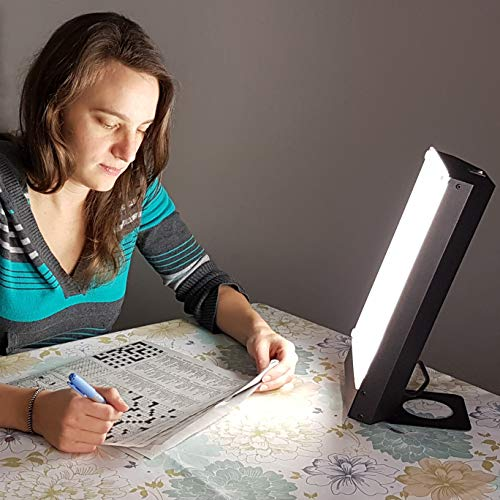 Travelite 10,000 Lux Bright Therapy Portable Desk Lamp, Black by Northern Light Technologies (Image #3)