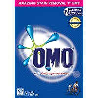 Omo Active Clean Laundry Detergent Washing Powder Front & Top Loader, 5 KG