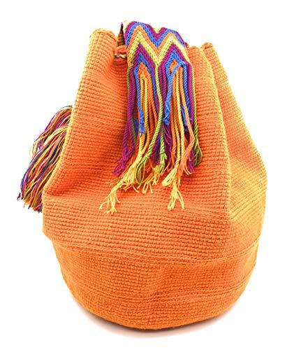 como Bolsos Artesanales mochilas para mujer STYLE Wayuu para hombre tanto Los COLOMBIAN Mangos Colombianos tzqwtB
