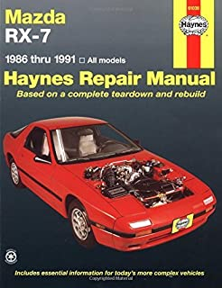 mazda rx-7 (1986-1991) automotive repair manual (haynes automotive repair