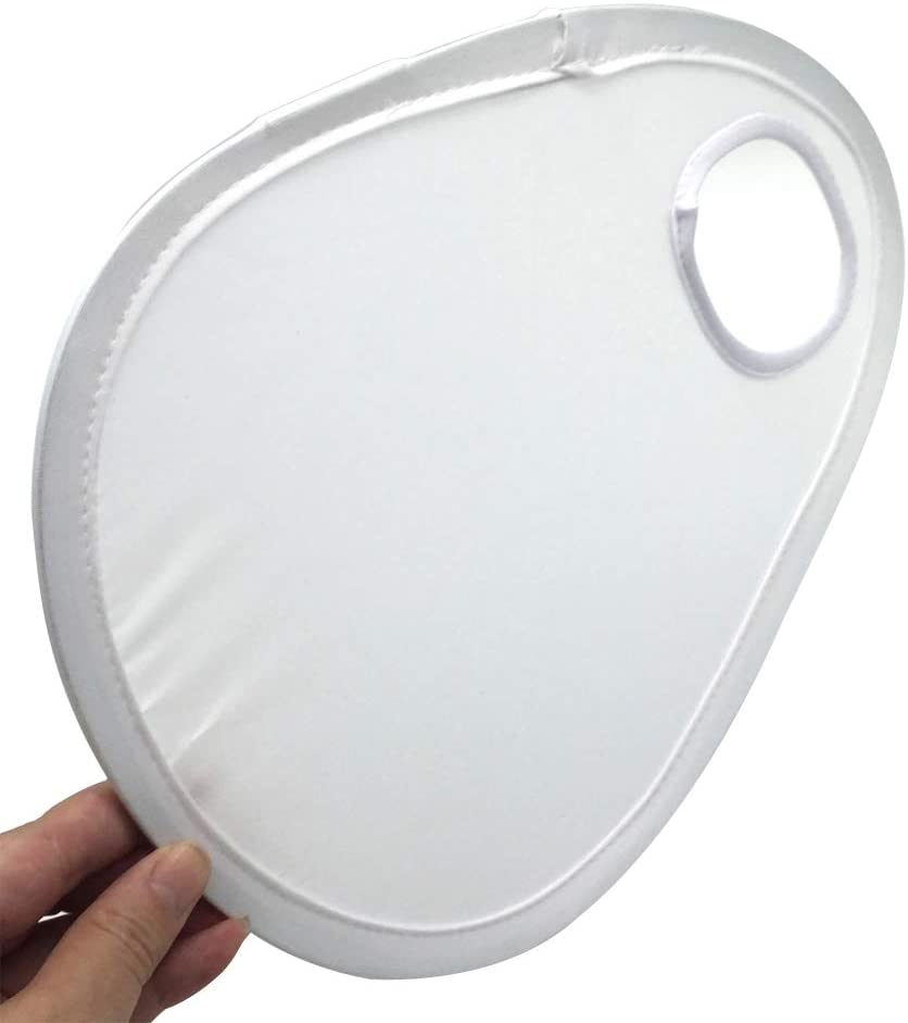 Lumpna Flash Diffuser, Lens Speedlight Foldable Easy Install Portable Universal White Camera Accessories Photography Flexible Lightweight Reflective Cover Softbox(White)