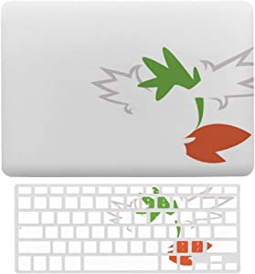 "Laptop Case for Apple MacBook Air 13"" w A1466/A1369 Plastic Pattern Hard Shell with Keyboard Cover Compatible 2 in 1 Bundle(Poke-mon)"