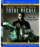 Total Recall (Mastered in 4K) (Single-Disc Blu-ray + UltraViolet Digital Copy) by Sony Pictures Home Entertainment