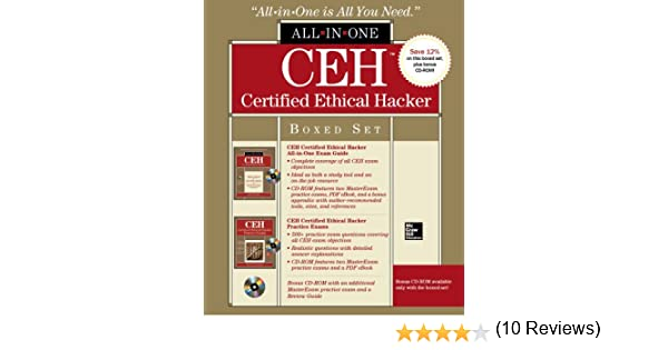 Ceh certified ethical hacker boxed set all in one matt walker ceh certified ethical hacker boxed set all in one matt walker 9780071811705 amazon books fandeluxe Images