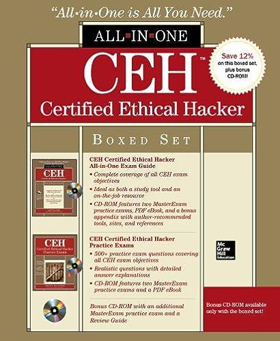 Ceh v8 exam guide ebook array ceh certified ethical hacker boxed set all in one matt walker rh fandeluxe Gallery
