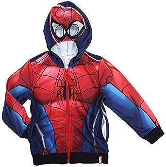 Garçons À Capuche Nouveauté Spiderman Masque Marvel Veste rY8rqU
