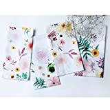 Folkulture Cotton Cloth Napkins for Dining Table Decor, Set of 4, 20-inch by 20-inch