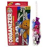 Toytech - Original Chain Gang Toy Organizer - White