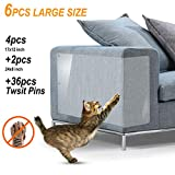 Cat Scratch Furniture 6Pack X-Large Cat Scratch Deterrent Cat Scratching Guard Pet Couch