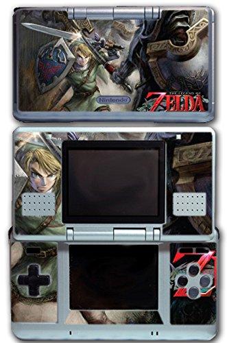Legend of Zelda Link Twilight Princess Wolf Video Game Vinyl Decal Skin Sticker Cover for Original Nintendo DS System