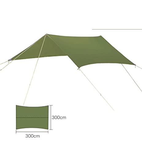 HMLifestyle Large Hammock Tarp Rain Fly Waterproofing Protective Tent Shelter Light C&ing Tent Rain Tarps Cover  sc 1 st  Amazon.com & Amazon.com : HMLifestyle Large Hammock Tarp Rain Fly Waterproofing ...
