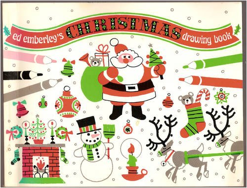 Ed Emberley's Christmas Drawing Book - Book  of the Ed Emberley Drawing Books