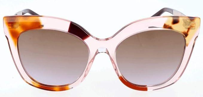 Amazon.com: Fendi anteojos de sol cuadrados color café ...