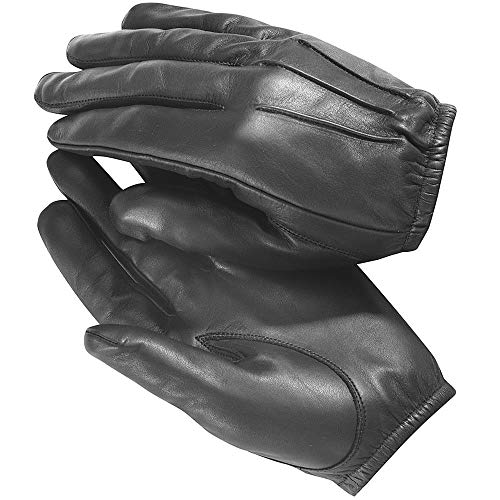 TACTICAL POLICE KEVLAR LINER CUT RESISTANT PATROL DUTY SEARCH GLOVES (L)
