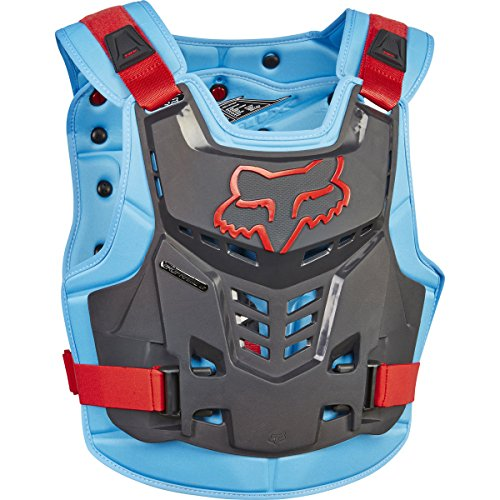 Chest Protector Fox - Fox Racing Proframe LC Roost Deflector-Blue/Red-L/XL