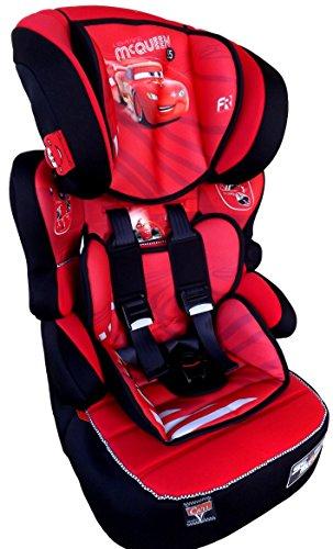 CARS McQUEEN Disney Beline LUXE Kindersitz KINDER AUTOSITZ BABY SITZ GRUPPE 1/2/3 9-36kg